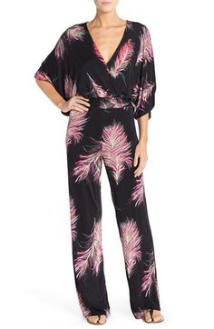 8346dbb8c72 ViX Swimwear  Krishna Sula  Open Back Cover-Up Jumpsuit Designer Jumpsuits