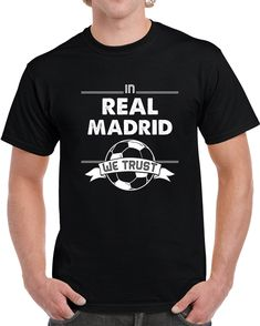 In Cristiano Ronaldo We Trust T Shirt Liverpool Fc, Cristiano Ronaldo, Messi, Real Madrid, Gifts For Friends, Leo, Trust, Sports, Mens Tops