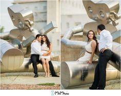 Engagement session in Deep Ellum, downtown Dallas | MnMfoto