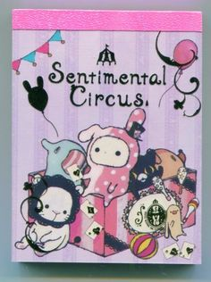 Sentimental Circus mini memo pad