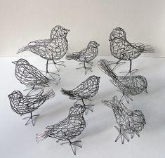 wire birds ♥