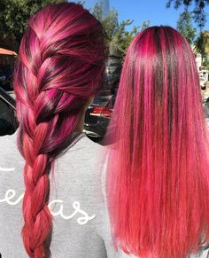 Pink balayagefor @ashleenino    #hairbyChiyuki  @salon_sessions Using @schwarzkopfusa @pravana #balayage #balayagehighlights #pinkhair #pastelpink #rosepink #modernsalon #americansalon #behindthechair #hairdresser #lahairstylist by chiyukihair