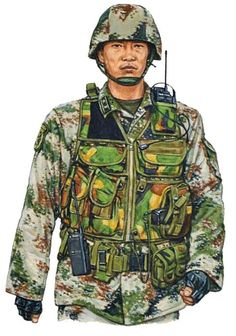 China Army officer, Chengdu 2007, pin by Paolo Marzioli