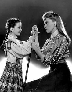 """""""Meet Me In St. Louis"""" (1944) This reminds me so much of the summer with Kendi and Kaylee.;)"""