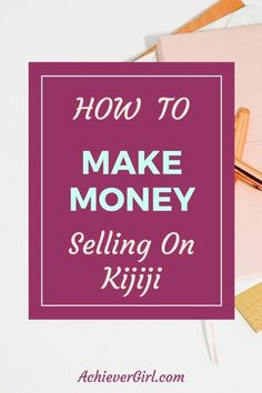 Did you know you can make money selling on kijiji? Find out how I'm making money selling on kijiji.  If I can do it, so can you! #achievergirl #makingmoney  #buyandsell #buyandsellideas #kijiji #sellingonkijiji #sellingonkijijitips #makemoney #makemoneyideas #howtomakemoney Work From Home Jobs, Make Money From Home, Way To Make Money, Make Money Online, Best Money Saving Tips, Money Tips, Saving Money, Ebay Stock, Investing In Stocks