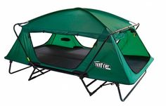 Why didn't I think of this?  Great Idea <3 A great tent for a person with a new hip! :0)