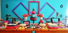 Idéias Decoração Festa Monster High