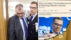 Arvostettu talouslehti ruotii kolumnissa kärkevästi Suomen hallituksen ratkaisuja.