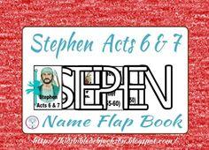 Bible Fun For Kids: Stephen