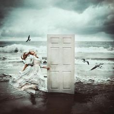 Why are you knocking at every door ? Go, knock at the door of your own heart.