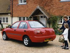 Daihatsu Charade Sedan UK-spec (G203) '1996–2000 Charades, Daihatsu, Japan, Cars, Classic, Autos, Derby, Car, Classic Books