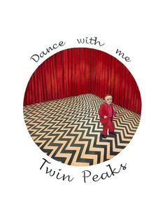 Art Print - Twin Peaks - Tamaño: 30 x 40 cm - Dance with me - Precio: 30 €. Dulce Porvenir Estudio. Rosa Álamo