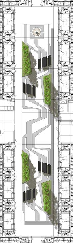 30 Super Ideas For Modern Landscape Urban Ideas Bamboo Landscape, Landscape Pavers, Modern Landscape Design, Landscape Architecture Design, Urban Architecture, Landscape Plans, Garden Landscape Design, Modern Landscaping, Urban Landscape