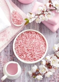 ***SPA*** : Treatments, Such as Sea Salt, Fragrant Essential Oils, and Flower Petals***