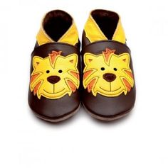 These cute tiger shoes from www.custardandcrumble.co.uk are ideal for taking those first baby steps