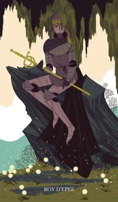 King of Swords http://sarakipin.tumblr.com/