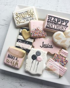 Birthday cookies …