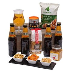 Flavours Of The East - Beer Hamper - The Perfect Gift for Any Occasion - Cobra Beer, Snacks and Treats all in one Hamper! Clearwater Hampers http://www.amazon.co.uk/dp/B003FT1VAQ/ref=cm_sw_r_pi_dp_sPtexb0SZ3AAW