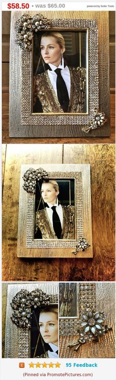 #vintage #gold #frame #photoframe #gifts #giftsforher #homedecor #weddinggiftideas #handmade #handmadegifts #ooakgifts #bridal #wedding #showergifts #jeweledframe #pictureframe #sale #onsale https://www.etsy.com/JNPVintageJewelry/listing/536313027/summer-sale-holdembellished-picture?ref=shop_home_active_3  (Pinned using https://PromotePictures.com)