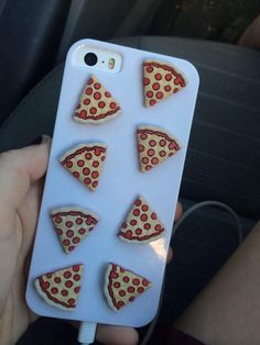 Sky blue iPhone case with clay pizzas Cool Iphone Cases, Cool Cases, Cute Phone Cases, Coque Iphone, Iphone 5s, Telephone Iphone, Hotline Bling, Gadgets, P8 Lite