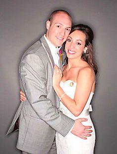 Brad and Elizabeth wedding Dallas, TX photo booth