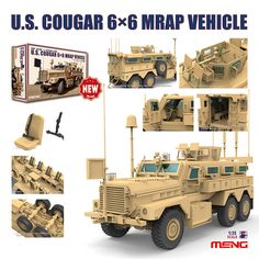 Mrap cougar by meng