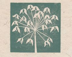 This linocut is handprinted, with white ink added to give a little sparkle. It is printed on green 160gm paper, in a blue-green ink. It is, once again, inspired by my own beautiful daughters, lost in conversation. The print is signed, unframed and measures 17cm x 22cm.