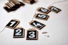 UKKONOOA: Monikäyttöiset kortit / Eco friendly chalkboard tags