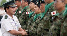 Mulheres japonesas reforçarão forças de defesa do país
