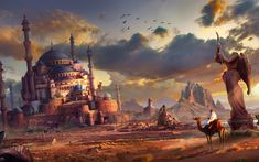 Find out: Fantasy Sand City wallpaper on http://hdpicorner.com/fantasy-sand-city/