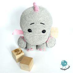 www.alegorma.com/sklep #alegorma #amigurumi #szydełkowce #crochet #dinosaur