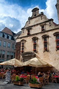 Maastricht, most southern part of The Netherlands. #travel #Holland #Maastricht
