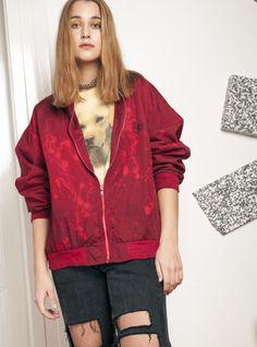 49dfc552773 90s vintage reworked bomber jacket Vintage Branding