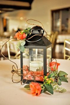 lantern wedding centerpiece ideas 3