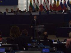 Last speech of Barroso as President of EU Commission