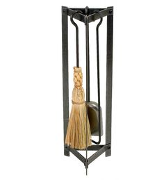 This Enclume Triangle Fireplace Tool Set has an industrial design for any home and any hearth; triangular design is both modern and beautiful. Fireplace accessories are compact for tight spaces. Our signature Fireplace Logs, Fireplace Tool Set, Christmas Fireplace, Fireplaces, Tool Stand, Fireplace Accessories, Hearth, Wrought Iron, Home Improvement