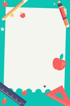 Whats Wallpaper, Cute Wallpaper Backgrounds, Cute Wallpapers, Posters Escolares, School Posters, Boarder Designs, Page Borders Design, Doodle Frames, School Days Images