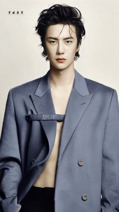 Wang Yibo x Marie Claire Chinese Man, Chinese Model, Boy Models, Male Models, Beautiful Boys, Beautiful People, Chen, Handsome Boys, Cute Guys