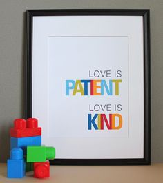 super cute for a nursery or babies room.  not sure, but i'd imagine you have to tell yourself this a lot with a youngin'?
