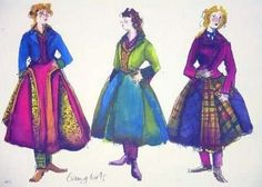 Sandy Powell costume sketch Sandy Powell, Costume Design Sketch, Theatre Costumes, Beautiful Costumes, Illustration Sketches, Classic Films, Traditional Dresses, Vintage Fashion, Fashion Design