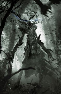 The Witcher 3: Ancient Leshen, Marek Madej on ArtStation at http://www.artstation.com/artwork/the-witcher-3-ancient-leshen