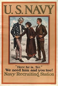 U.S. Navy Recruitment Poster