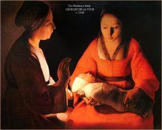 El Niño recién nacido (Georges de La Tour)