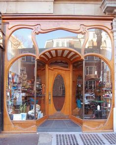 19th Century store front in Cambridge, Mass.
