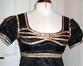 Damen Regency Ballkleid / Jane Austen Replikat Kleid Custom made
