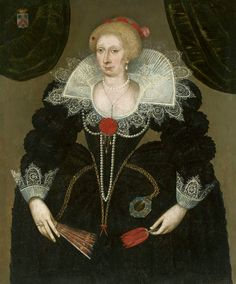 Portrait of Susanne de la Brisollières by Charles Martin, ca. 1600 (PD-art/old), Muzeum Narodowe w Warszawie (MNW)