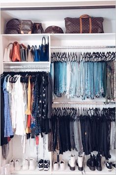 72 bedroom ideas for small rooms for couples closet organization 34 - coodecors organization couple 72 bedroom ideas for small rooms for couples closet organization 34 - coodecors Closet Walk-in, Closet Bedroom, Closets, Reach In Closet, Closet Ideas, Closet Renovation, Closet Remodel, Small Room Bedroom, Bedroom Decor