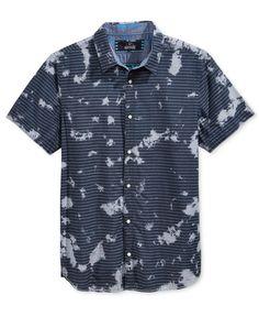 Buffalo David Bitton Men's Sadaris Stripe Graphic-Print Shirt