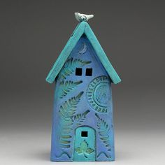 Ceramic HouseHome Decor Nature Inspired hand made by DavisVachon