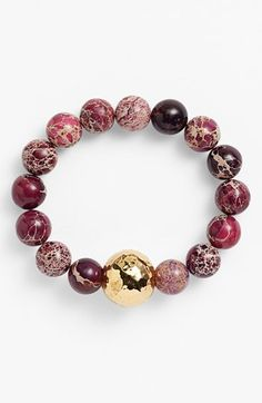 Simon Sebbag Bead Stretch Bracelet available at #Nordstrom